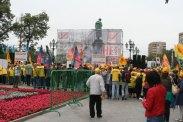 11.07.2014. Митинг солидарности с жителями Донбасса на Пушкинской площади в Москве.