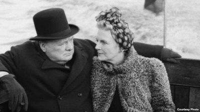 Уинстон и Клементина Черчилль, Великобритания, 1940 год