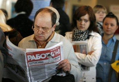 Количество безработных россиян выросло вдвое